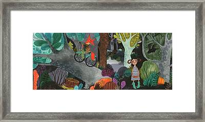 Prophecy Of The Bird Framed Print by Kate Cosgrove