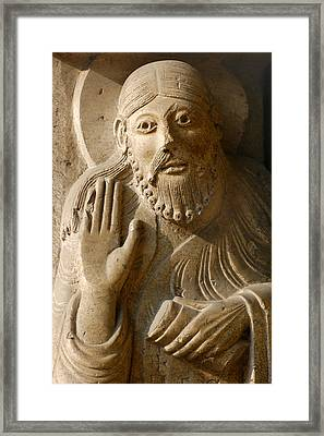 The Prophet Isaiah Framed Print by Italian School