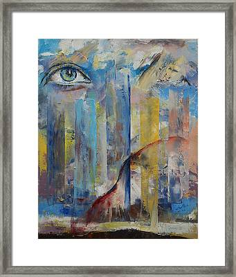 Prophet Framed Print by Michael Creese