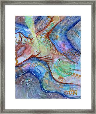 Prophetic Ms 33 Soul Retrieval Soul Repair Framed Print