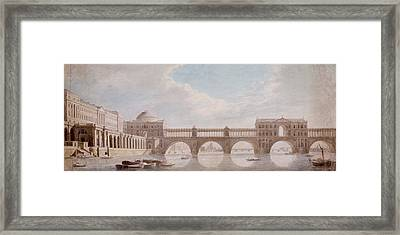 Proposed Design For A Bridge Framed Print