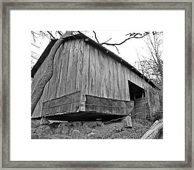Propped Up Framed Print by Susan Leggett