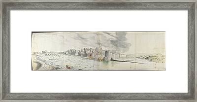 Prospect Of Gallway Framed Print by British Library