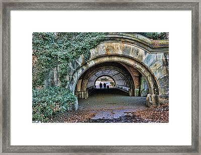 Prospect Park Passage - Brooklyn Framed Print