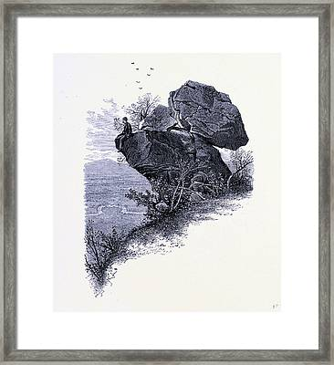Prospect Rock United States Of America Framed Print by American School