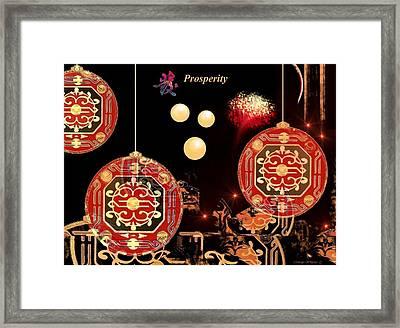 Prosperity Framed Print