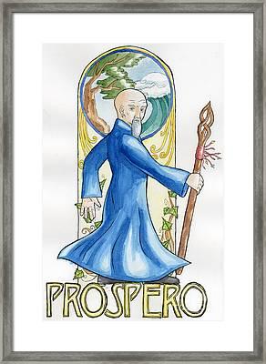 Prospero Framed Print