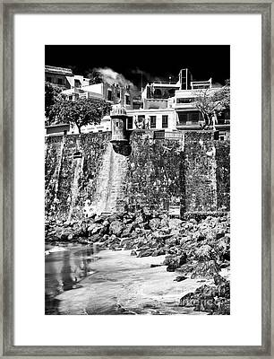 Proteccion Framed Print by John Rizzuto