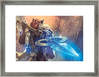 Protect Framed Print by Ryan Barger