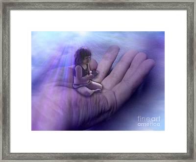 Protect Their Souls Framed Print by Tlynn Brentnall