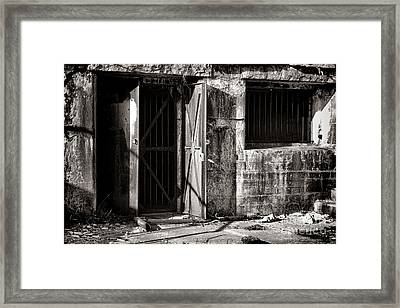 Protected Framed Print by Olivier Le Queinec