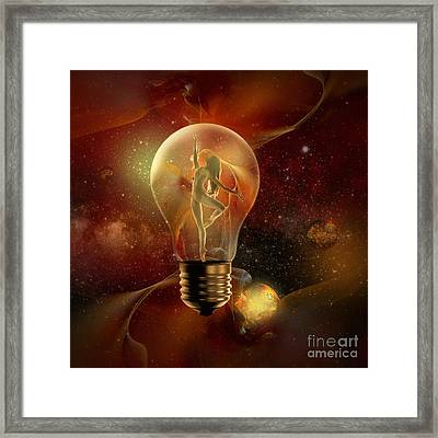 Protected Space Framed Print