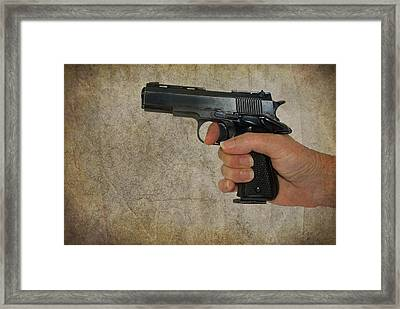Protecting Your Home Framed Print by Charles Beeler