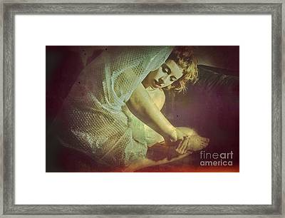 Protection - A Body Performance Framed Print