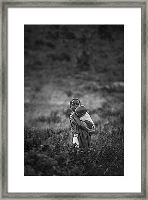 Framed Print featuring the photograph Protection by Antonio Jorge Nunes