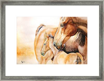 Protection Framed Print by Tamer and Cindy Elsharouni