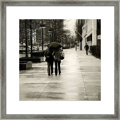 Protection Framed Print