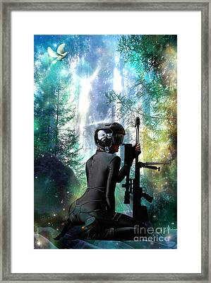 Protection Framed Print by Tammera Malicki-Wong