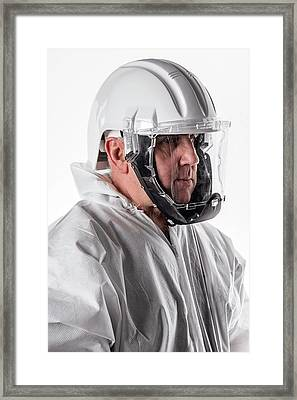Protective Safety Clothing Framed Print