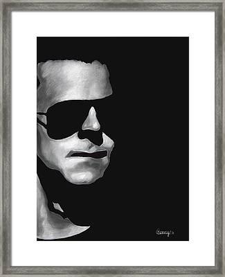 Protectore Framed Print by Courtney Kenny Porto