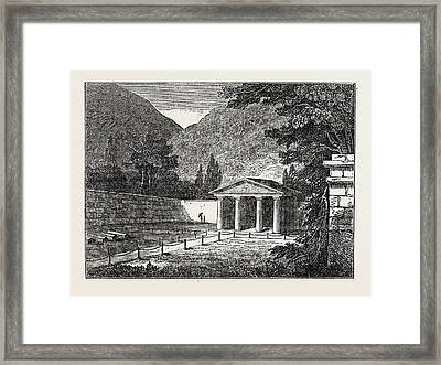 Protestant Cemetery At Caraccas Framed Print