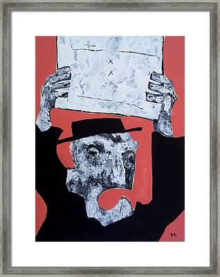 Protesto No. 1  Framed Print by Mark M  Mellon