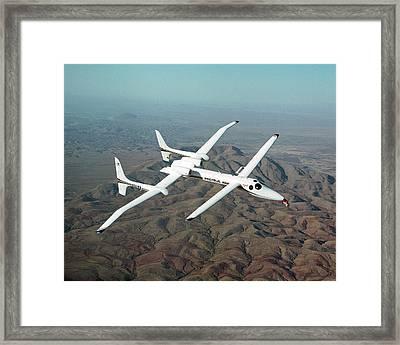 Proteus Endurance Aircraft Framed Print by Nasa/tom Tschida