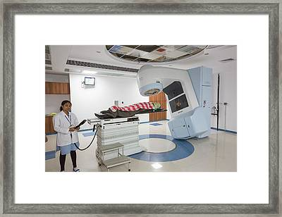 Proton Therapy Framed Print