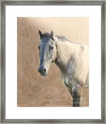 Proud Framed Print by Betty LaRue