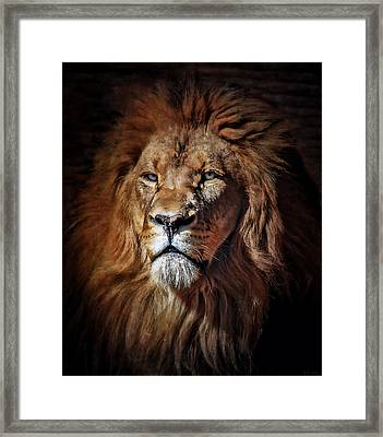 Proud N Powerful Framed Print by Elaine Malott