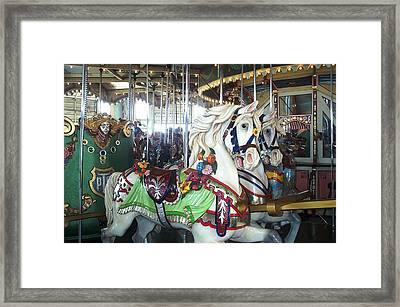 Proud Prancing Ponies Framed Print