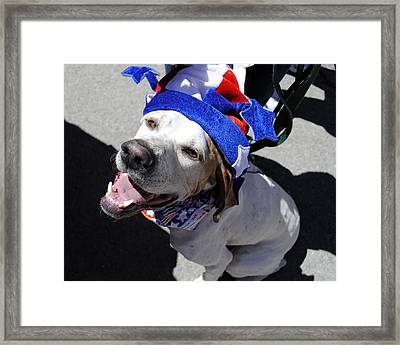 Proud To Be An American Framed Print
