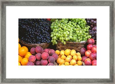 Provencal Fruit Framed Print