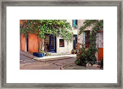 Provence Antiques Framed Print