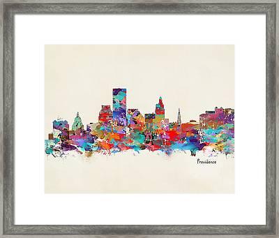 Providence Skyline Framed Art Prints Fine Art America