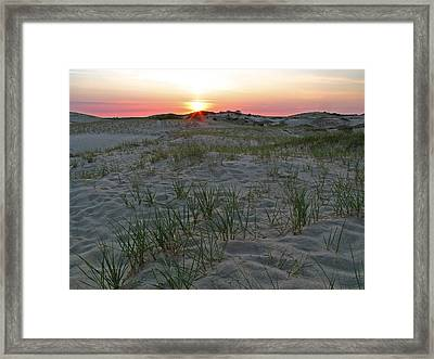 Provinceland Dunes Framed Print by Juergen Roth