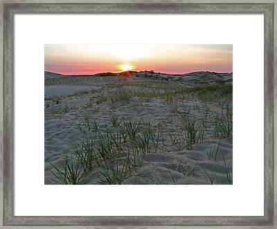 Provinceland Dunes Framed Print