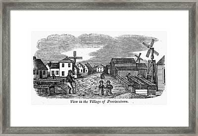 Provincetown, 1839 Framed Print