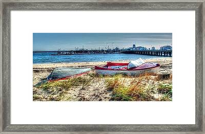 Provincetown Beach Framed Print by Susan Lee Giles