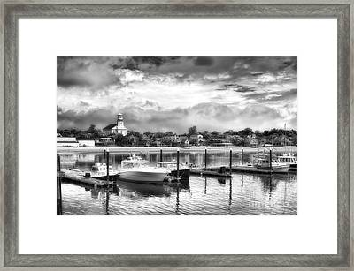 Provincetown Harbour View II Framed Print