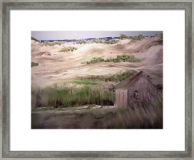 Provincetown Landscape Framed Print by Joseph Gallant
