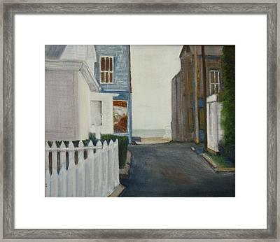 Provincetown Framed Print