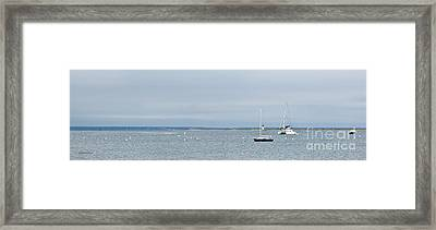 Provincetown Outlook Framed Print by Michelle Wiarda