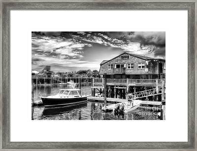 Provincetown Pier Framed Print