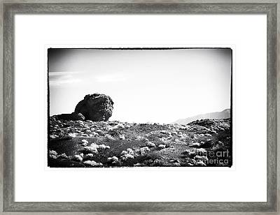 Proving Grounds Framed Print by John Rizzuto