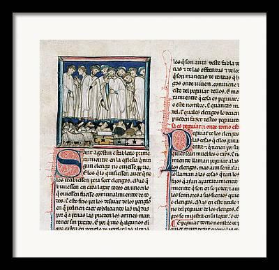 Clergy Photographs Framed Prints
