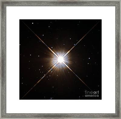 Proxima Centauri Framed Print by Science Source