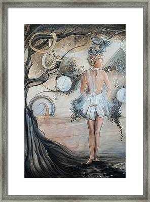 Prudence Framed Print by Jacque Hudson