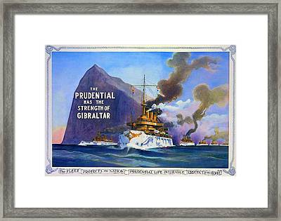 Prudential Life Insurance Poster Framed Print by Charlie Ross