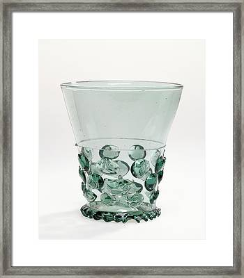 Prunted Goblet Berkemeyer Unknown Germany Framed Print by Litz Collection